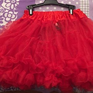 Other - Red petticoat